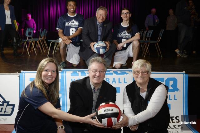 Le volleyball sera à l'honneur à Shawinigan du... (Photo: Sylvain Mayer Le Nouvelliste)