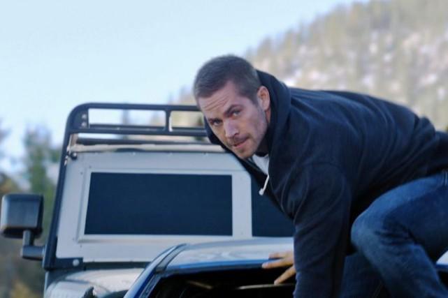 Paul Walker dans une scène de Furious 7.... (Photo: fournie par Universal Pictures)