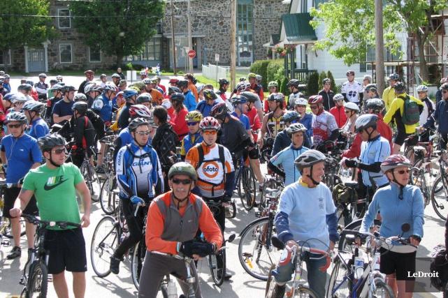 La Petite-Nation sera envahie par des hordes de cyclistes de tous les âges et... (Archives, LeDroit)