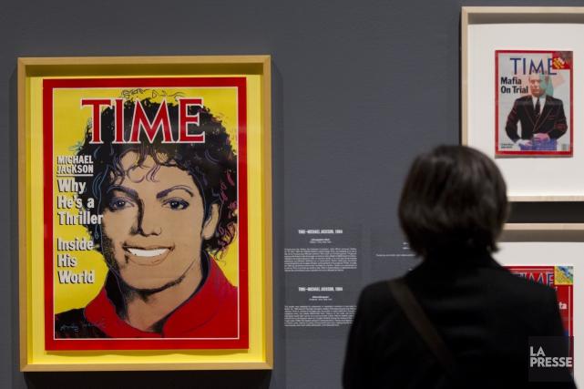L'année dernière, Andy Warhol s'est classé en première place du palmarès des... (Archives La Presse)