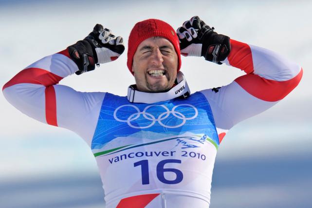 Le skieur suisse Silvan Zurbriggen a remporté lamédaille... (Photo Gero Breloer, archives AP)