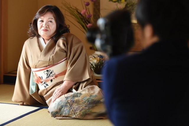 Yasue Tomita avoue être «un peu rouillée», mais... (Photo Toru YAMANAKA, AFP)