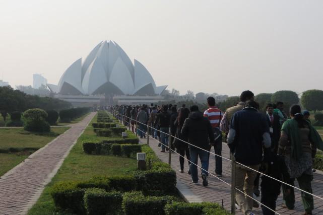 À New Delhi, il m'a fallu beaucoup de... (Photo La Nouvelle, Jonathan Custeau)