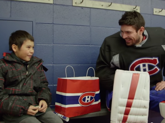 Trent Leon et Carey Price....