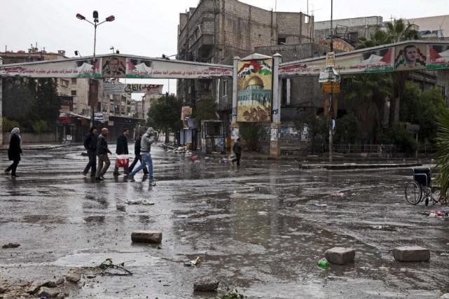 C'est la première fois que l'organisation djihadiste, qui... (PHOTO CAROLE ALFARAH, Archives AFP)