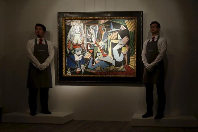 Les femmes d'Alger (Version 'O') de Pablo Picasso.... (Photo: Reuters)