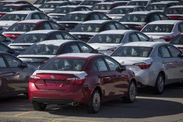 Les ventes de véhicules depuis le début de... (Photo Mark Blinch, REUTERS)
