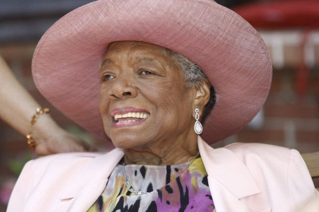 Maya Angelou en 2010.... (PHOTO ARCHIVES AP)