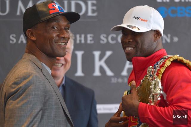 Sakio Bika et Adonis Stevenson vont disputer uncombat... (Photo Yan Doublet, Le Soleil)