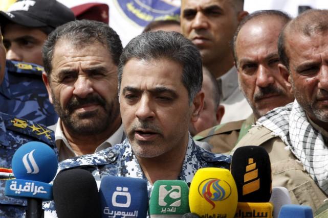 Le ministre irakien de l'Intérieur, Mohammed al-Ghabbane, a... (Photo Thaier Al-Sudani, Reuters)