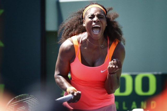 Serena Williams... (Photo: AP)