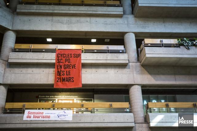 La demande d'injonction visait particulièrement cinq associations étudiantes... (Photo: Olivier Pontbriand, La Presse)