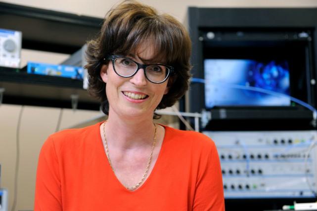 Sophie LaRochelle, titulaire de la Chaire de recherche... (Photo Marc Robitaille)