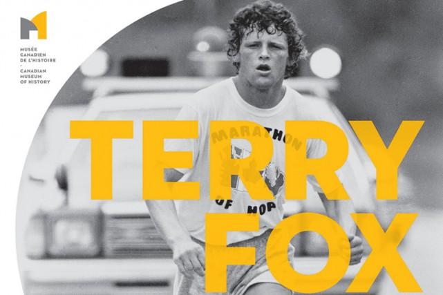 L'exposition au Musée canadien de l'histoire,Terry Fox -...