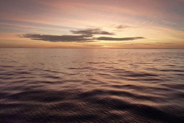 Les océans, qui captent 90% de la chaleur supplémentaire générée par le... (Photo AFP)