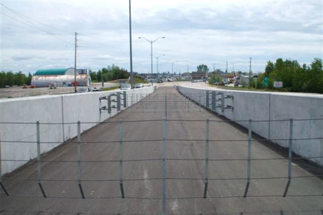 Le ministère des Transports de l'Ontario a aménagé... (Photo fournie par le ministère des Transports de l'Ontario)
