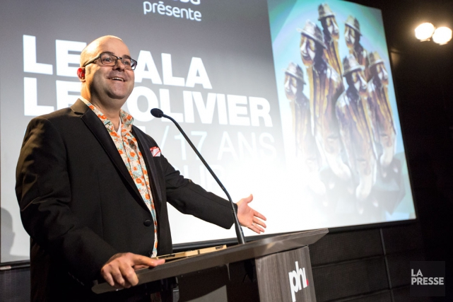 C'est l'humoriste Laurent Paquin qui sera l'animateur du... (La Presse, Édouard Plante-Fréchette)