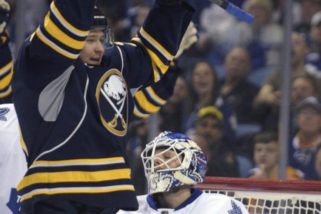 Au grand malheur de certains partisans des Sabres de Buffalo, l'équipe de... (Photo AP)