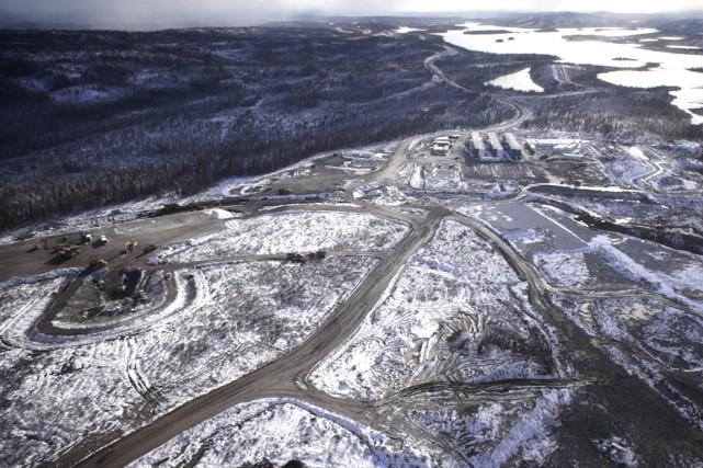 Actuellement, 17 projets miniers restent sur l'écran radar... (PHOTO ARCHIVES FOURNIE PAR STORNOWAY)