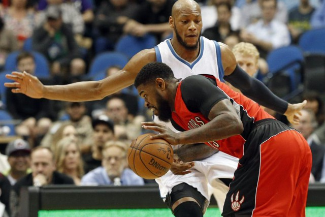 Lou Williams a inscrit 18 points et les Raptors de Toronto ont profité de la... (Photo AP)