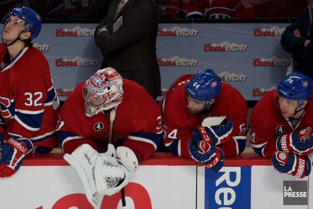 Le Canadien s'est incliné 5-3 devant le Lightning... (Photo André Pichette, La Presse)