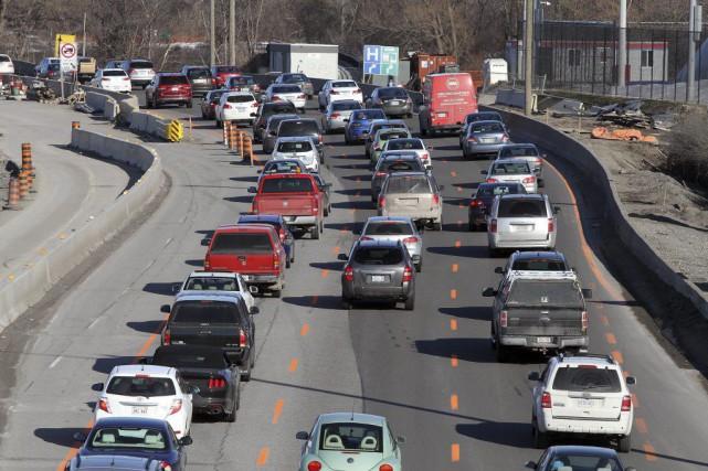 Pourquoi Ottawa affiche-t-elle le troisième pire dossier de congestion sur les... (Étienne Ranger, LeDroit)