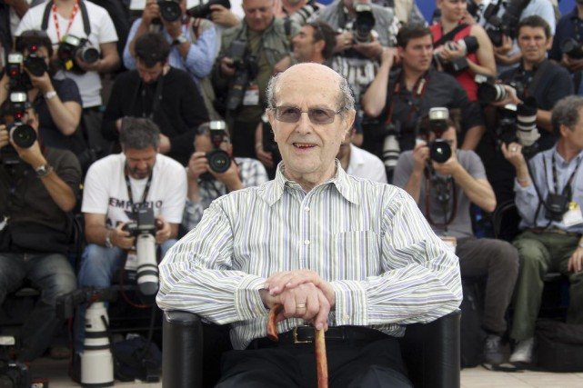 Manoel de Oliveira au Festival de Cannes en... (Photo d'archives, AFP)