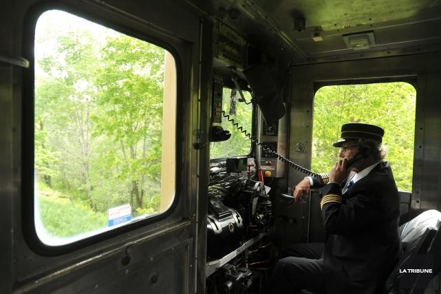 Bien que l'Orford Express soit susceptible de passer aux mains de la Ville de... (Archives La Tribune, Jessica Garneau)