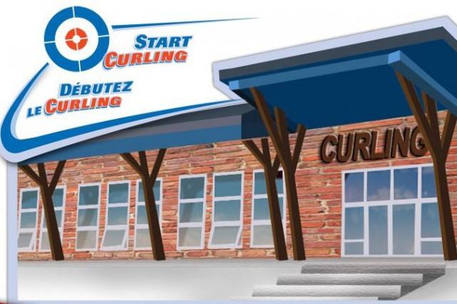 Ça, ça fait mal: l'Association canadienne de curling a bâti toute sa campagne...