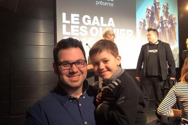 Jean-Denis Scott et son fils Olivier.... (Courtoisie)