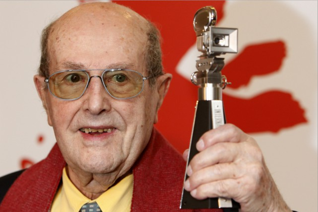 Manoel de Oliveira en 2009... (Archives AP)