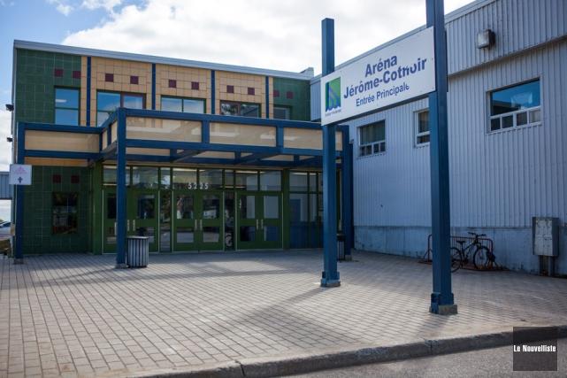 L'aréna Jérôme-Cotnoir sera ouvert aux patineurs les 3,... (Photo: Olivier Croteau, Le Nouvelliste)