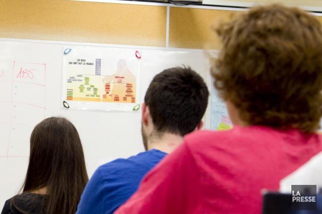 Enseigner est une tâche exigeante et le gouvernement... (Photo: La Presse)