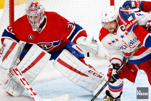 Carey Price et Alexander Ovechkin... (Photo Robert Skinner, La Presse)