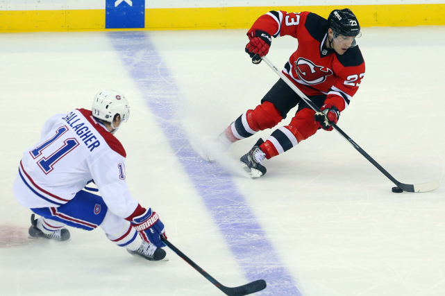 Brendan Gallagher et Mike Cammalleri... (Photo Ed Mulholland, USA Today)