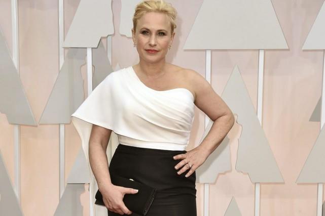 Patricia Arquette aux Oscars en février dernier.... (Photo: archives AP)