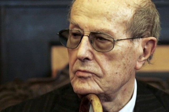 En mars 2008, Manoel de Oliveira faisait son... (Photo: archives Reuters)