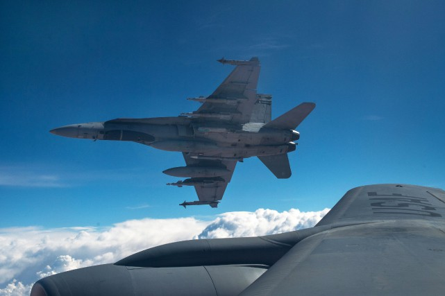 L'armée n'a pas voulu préciser si les pilotes... (PHOTO ARCHIVES LA PRESSE CANADIENNE/FORCES ARMÉES CANADIENNES)
