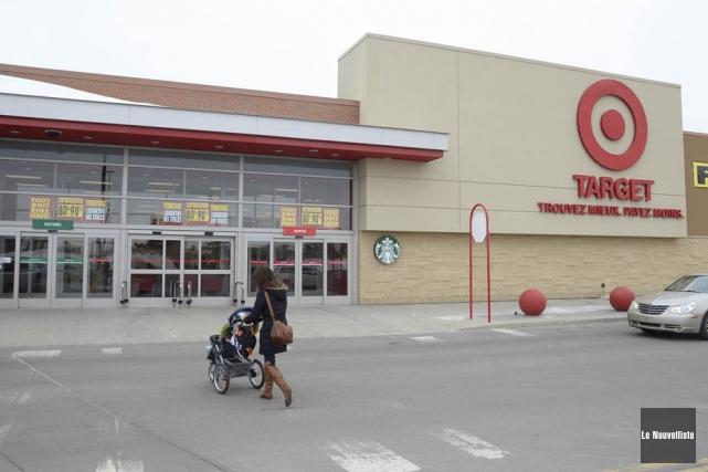 C'est la fin pour Target à Trois-Rivières.... (Photo: Sylvain Mayer, Le Nouvelliste)