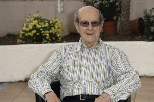 Manoel de Oliveira en mai 2010.... (Photo: archives AP)