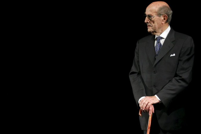 Manoel de Oliveira en 2008.... (Photo: archives Reuters)