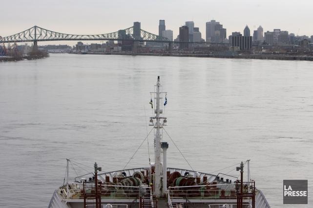 La voie maritime s'attend à transporter 40 millions... (PHOTO ARCHIVES LA PRESSE)