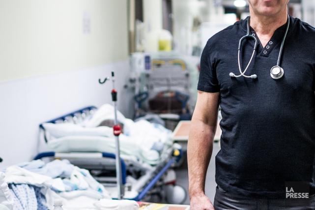Si le secteur de la santé est mis... (Photo Olivier PontBriand, archives La Presse)