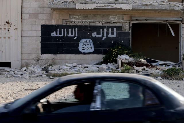 Un grand nombre de combattants étrangers partent de... (Photo archives AFP)
