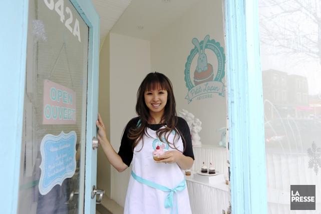 Viviane Nguyen, notaire le jour, pâtissière très tôt... (PHOTO Martin Chamberland, LA PRESSE)