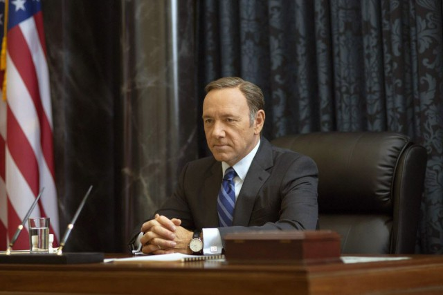 House of Cards a gagné deux Golden Globes... (Photo Netflix/Nathaniel E. Bell, AP)