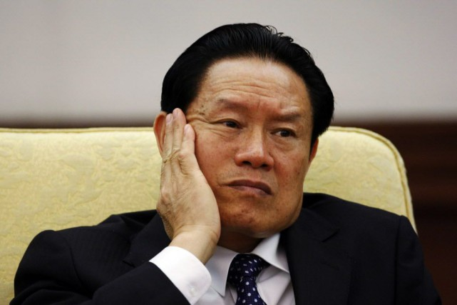 Le dirigeant chinois déchu Zhou Yongkang, ex-ministre de... (Photo Jason Lee, archives Reuters)