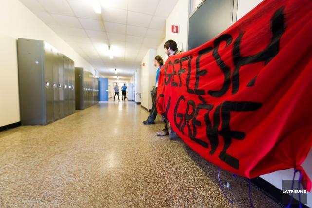 Une requête pour outrage au tribunal visant l'Association générale étudiante de... (Imacom, Jessica Garneau)