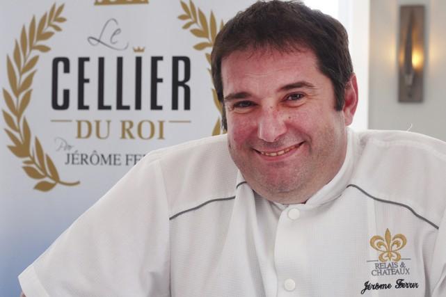 Overture du nouveau restaurant de Jérôme Ferrer au... (photo Alain Dion)