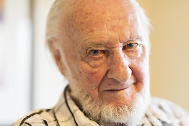 Bernard Pelletier, lors de la célébration de son... (Courtoisie)